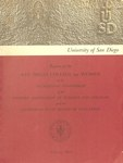 Report of the San Diego College for Women to the Accrediting Commission of the Western Association of Schools and Colleges - February 1969 by San Diego College for Women