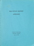 Self-Study Report Appendix 1992 by University of San Diego