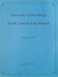 University of San Diego WASC Fourth Year Report October 21, 1996