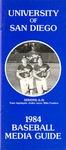University of San Diego Baseball Media Guide 1984 by University of San Diego Athletics Department