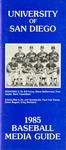 University of San Diego Baseball Media Guide 1985