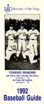 University of San Diego Baseball Media Guide 1992 by University of San Diego Athletics Department