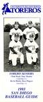 University of San Diego Baseball Media Guide 1993