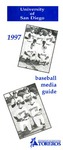 University of San Diego Baseball Media Guide 1997