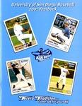 University of San Diego Baseball Media Guide 2001