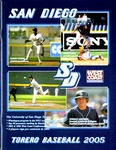 University of San Diego Baseball Media Guide 2005 by University of San Diego Athletics Department