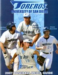 University of San Diego Baseball Media Guide 2007