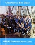 University of San Diego Men's Basketball Media Guide 1982-1983 by University of San Diego Athletics Department