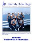 University of San Diego Men's Basketball Media Guide 1987-1988 by University of San Diego Athletics Department