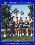 University of San Diego Men's Basketball Media Guide 1990-1991