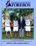 University of San Diego Men's Basketball Media Guide 1994-1995 by University of San Diego Athletics Department
