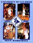 University of San Diego Men's Basketball Media Guide 1995-1996 by University of San Diego Athletics Department