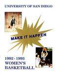 University of San Diego Women's Basketball Media Guide 1992-1993