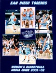 University of San Diego Women's Basketball Media Guide 2001-2002 by University of San Diego Athletics Department