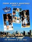 University of San Diego Women's Basketball Media Guide 2002-2003 by University of San Diego Athletics Department