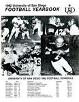 University of San Diego Football Media Guide 1982 by University of San Diego Athletics Department
