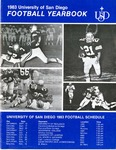 University of San Diego Football Media Guide 1983