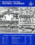 University of San Diego Football Media Guide 1984