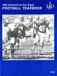 University of San Diego Football Media Guide 1985