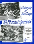 University of San Diego Football Media Guide 1988