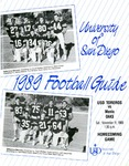 University of San Diego Football Media Guide 1989