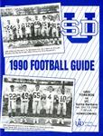 University of San Diego Football Media Guide 1990