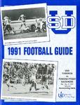 University of San Diego Football Media Guide 1991