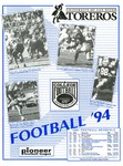 University of San Diego Football Media Guide 1994