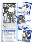 University of San Diego Football Media Guide 1996 by University of San Diego Athletics Department
