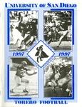 University of San Diego Football Media Guide 1997 by University of San Diego Athletics Department