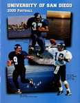 University of San Diego Football Media Guide 2000