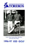 University of San Diego Golf Media Guide 1996-1997