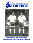 University of San Diego Men's Soccer Media Guide 1995 by University of San Diego Athletics Department