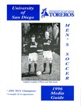 University of San Diego Men's Soccer Media Guide 1996
