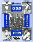 University of San Diego Men's Soccer Media Guide 1998 by University of San Diego Athletics Department