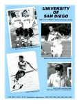 University of San Diego Men's Soccer Media Guide 2000 by University of San Diego Athletics Department