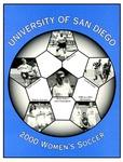 University of San Diego Women's Soccer Media Guide 2000