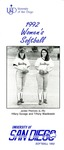 University of San Diego Softball Media Guide 1992