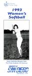 University of San Diego Softball Media Guide 1993 by University of San Diego Athletics Department
