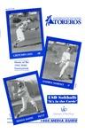 University of San Diego Softball Media Guide 1995
