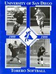 University of San Diego Softball Media Guide 1999 by University of San Diego Athletics Department