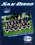 University of San Diego Softball Media Guide 2003