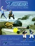 University of San Diego Softball Media Guide 2007 by University of San Diego Athletics Department