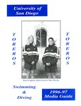 University of San Diego Swimming & Diving Media Guide 1996-1997 by University of San Diego Athletics Department
