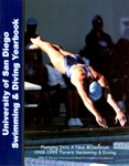 University of San Diego Swimming & Diving Media Guide 1998-1999 by University of San Diego Athletics Department