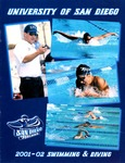 University of San Diego Swimming & Diving Media Guide 2001-2002 by University of San Diego Athletics Department
