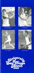 University of San Diego Men's Tennis Media Guide 1986