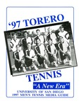 University of San Diego Men's Tennis Media Guide 1997