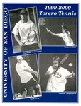 University of San Diego Men's Tennis Media Guide 1999-2000 by University of San Diego Athletics Department