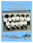 University of San Diego Men's Tennis Media Guide 2000-2001 by University of San Diego Athletics Department